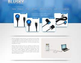 #85 для Website Design for BLUSKY optical probes от korakstudio