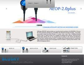 nº 114 pour Website Design for BLUSKY optical probes par Agilitron