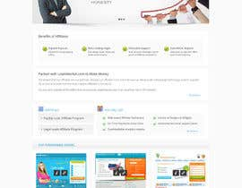 nº 70 pour Website Design for LeadsMarket.com par Pavithranmm