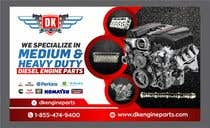 Graphic Design Contest Entry #103 for Design a Company Banner For Engine Parts