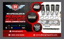 Graphic Design Contest Entry #104 for Design a Company Banner For Engine Parts
