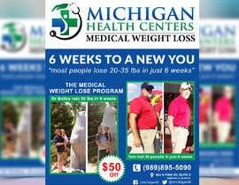 Nro 13 kilpailuun medical weight loss flyer käyttäjältä bossminhajmahmud