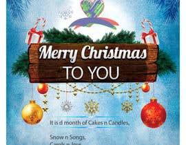 Nro 40 kilpailuun Design a Christmas Flyer käyttäjältä pradeepmariyan