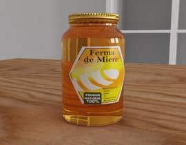#23 untuk Label design for Honey Jar (eticheta miere) oleh daberrio