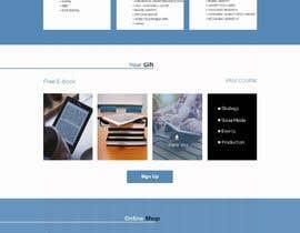 #6 untuk Create a landing page design PSD oleh sktaslima