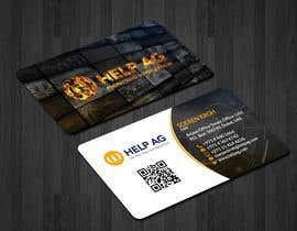 Nro 157 kilpailuun Design profesisonal Business Cards for Cybersecurity käyttäjältä papri802030