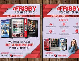 #160 for Design a Flyer For A Vending Machine Company by ssandaruwan84
