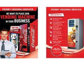 #115 for Design a Flyer For A Vending Machine Company by siambd014