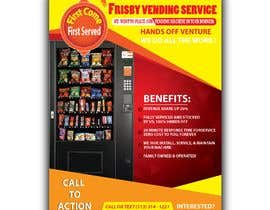 #78 for Design a Flyer For A Vending Machine Company by parvezahmadjoy