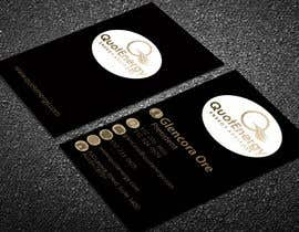 #232 for Vertical Business card for Energy firm by graphictania