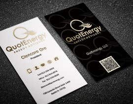 #261 untuk Vertical Business card for Energy firm oleh graphictania