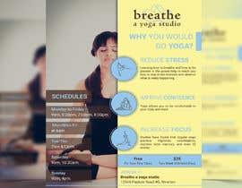 #18 untuk I need some Graphic Design for a yoga studio oleh smileless33