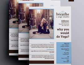 #24 untuk I need some Graphic Design for a yoga studio oleh masudhridoy