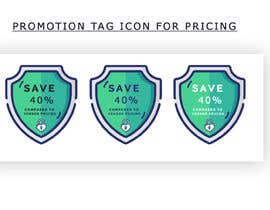 #19 for Promotion tag icon for pricing by tosoubhik