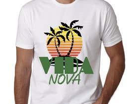 #64 untuk Graphic design for a t-shirt oleh sahac5555