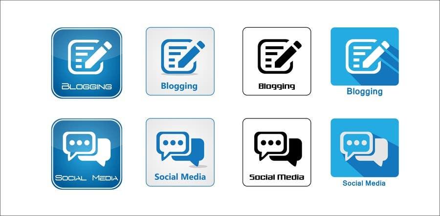 Inscrição nº                                         6                                      do Concurso para                                         Web and Online Marketing Icon Design Set