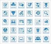 Graphic Design Inscrição do Concurso Nº9 para Web and Online Marketing Icon Design Set
