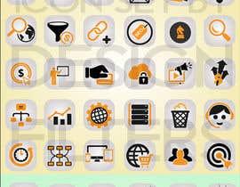 #5 para Web and Online Marketing Icon Design Set por Onefilter