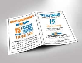 Nro 22 kilpailuun Nova 15th Anniversary Invite käyttäjältä ershad0505