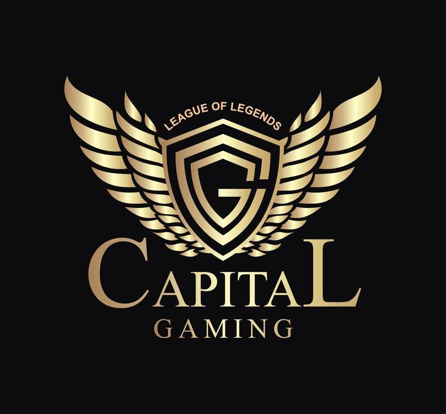Super Top Entries - Capital Gaming Logo design   Freelancer GX61