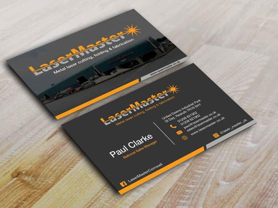 Entry #53 by Nabila114 for Updating of Business cards | Freelancer