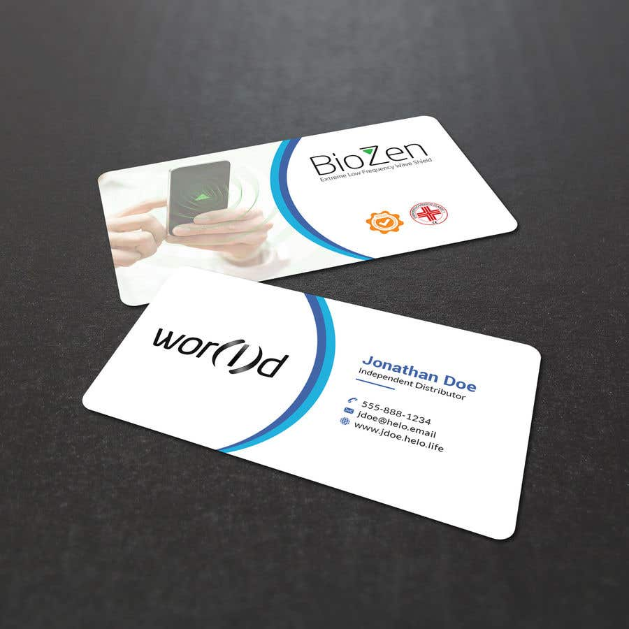 Entry 23 By Mahmudkhan44 For Design Double Sided Business Cards