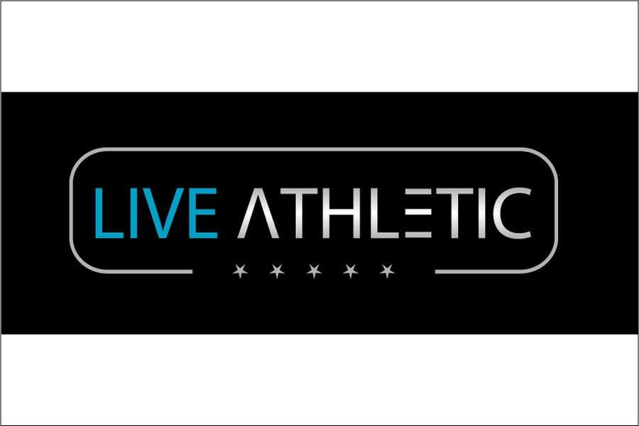 Kilpailutyö #828 kilpailussa Logo Design for LIVE ATHLETIC