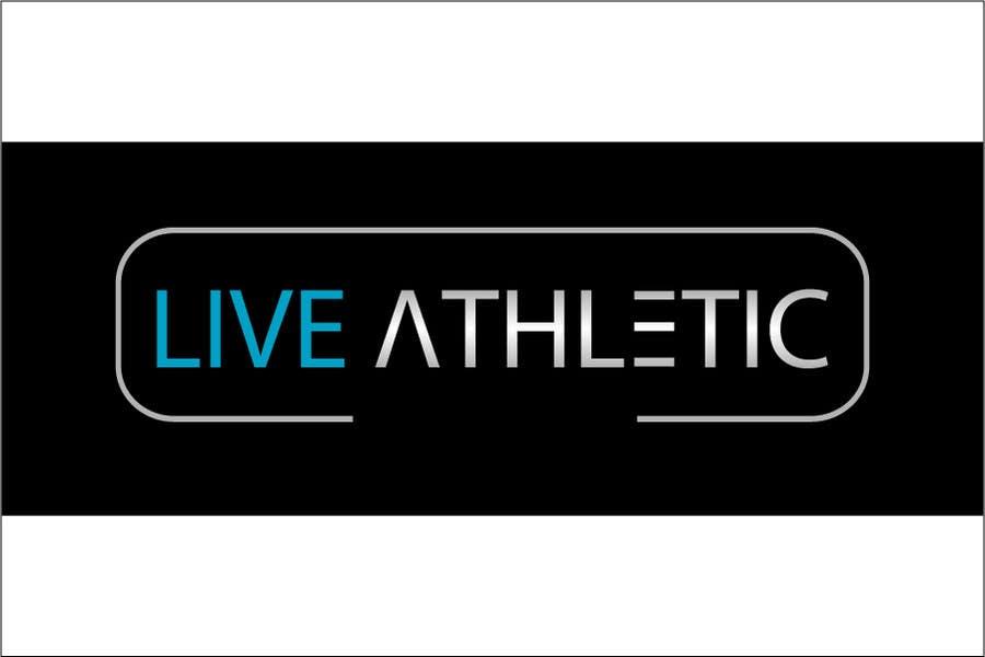 Kilpailutyö #827 kilpailussa Logo Design for LIVE ATHLETIC