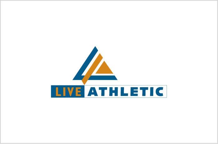 Kilpailutyö #726 kilpailussa Logo Design for LIVE ATHLETIC