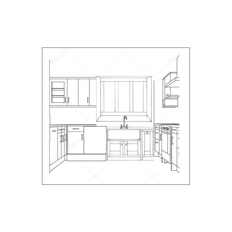 Entry 19 By Asik01711 For Kitchen Layout And Design Freelancer
