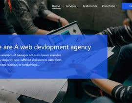 #14 dla Design a Website Homepage (just a jpg design) przez chiku789