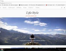 #12 dla Design a Website Homepage (just a jpg design) przez ganupam021