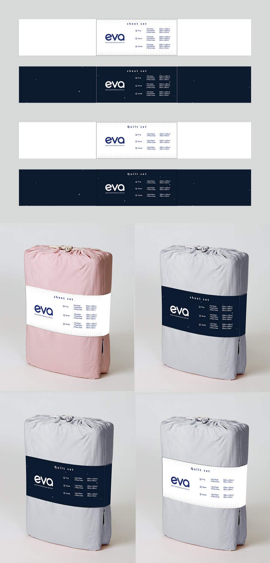 Entry 19 By Sheikhmahamud848 For Design Our New Bedsheet Packaging Freelancer