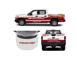 #16 for Vehicle Wrap for F150 by TheFaisal