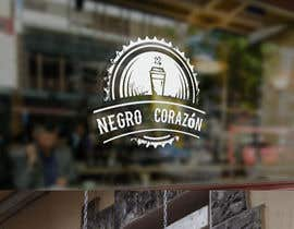 "adarshdk tarafından Design a Logo for a coffee shop called ""NEGRO CORAZÓN"" (black heart) için no 135"