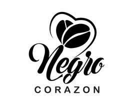 "Sanju208 tarafından Design a Logo for a coffee shop called ""NEGRO CORAZÓN"" (black heart) için no 225"