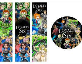 #2 cho Design 2 Bookmarks and 1 Sticker for a new Children's Fantasy Novel bởi dmned