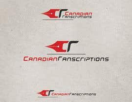 #79 untuk Design a Logo for Canadian Transcriptions oleh GeorgeOrf