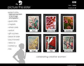 ManuelSabatino tarafından Homepage Illustration Design for Picture This Sister için no 24
