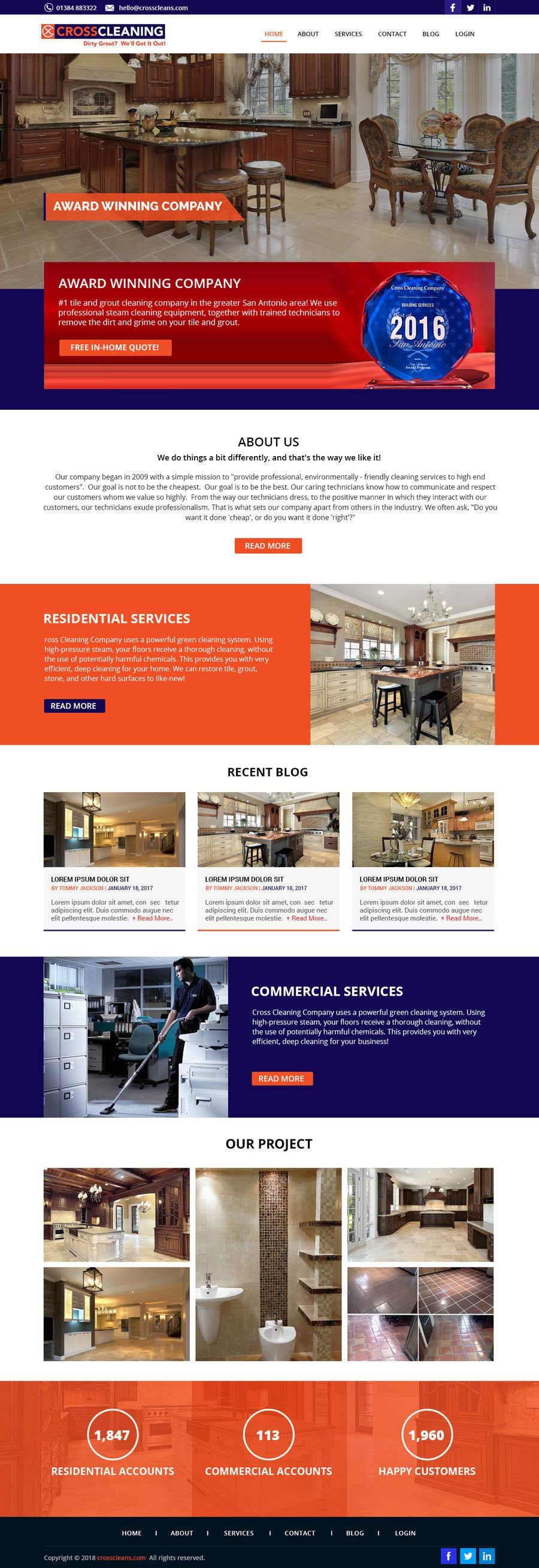 Kilpailutyö #26 kilpailussa Wow Me with Creative Redesign of Wordpress Website