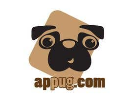"#81 dla ""Pug Face"" logo for new online messaging service przez Shumiro"