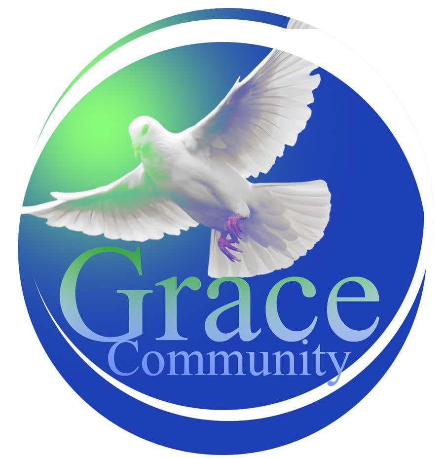 Penyertaan Peraduan #15 untuk Grace Community Logo Contest