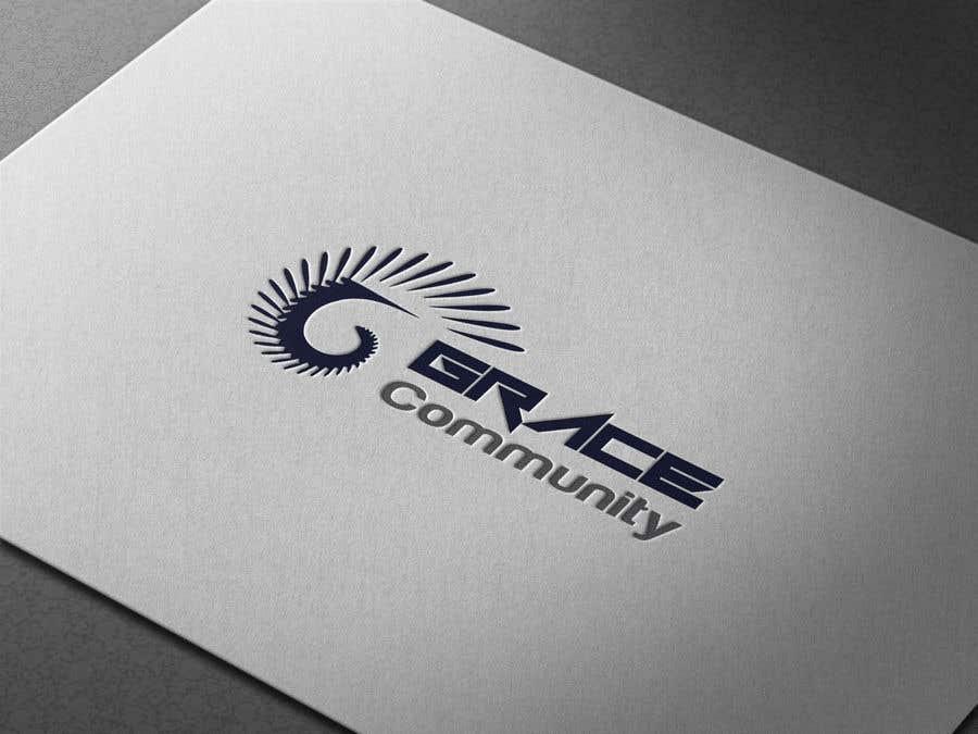 Penyertaan Peraduan #18 untuk Grace Community Logo Contest