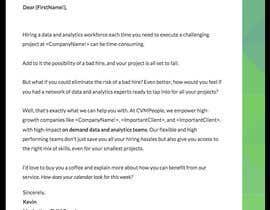 Nro 11 kilpailuun Copy write & design our Business Development letterhead, letter copy & emails käyttäjältä sharmadhs