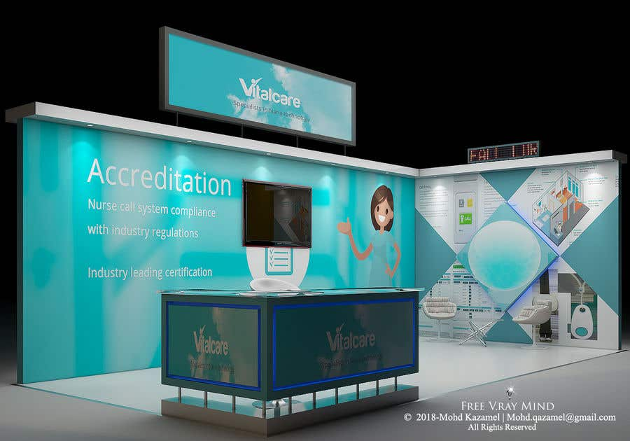 Exhibition Stand Regulations : Entry by princehooba for design an exhibition stand freelancer