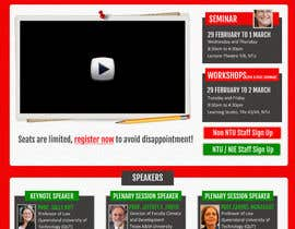 "nº 49 pour Website Design for Seminar: ""Putting Assessment and Feedback at the Center of Student Learning"" par csschimp"