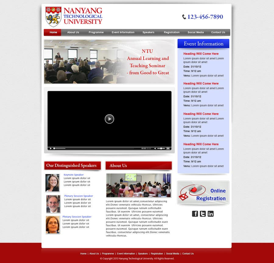 """Konkurrenceindlæg #12 for Website Design for Seminar: """"Putting Assessment and Feedback at the Center of Student Learning"""""""