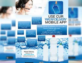 #4 cho Design Flyer for Water Delivery Mobile App A4 Size bởi bakhtear05