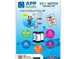 #20 cho Design Flyer for Water Delivery Mobile App A4 Size bởi arirushstudio