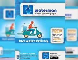 #30 cho Design Flyer for Water Delivery Mobile App A4 Size bởi tishan9